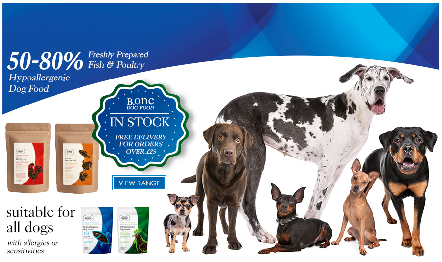 View B.one Grain Free Dog Food & Hypoallergenic Dog Treats