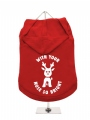 ''Christmas: With Your Nose So Bright'' Dog Hoodie